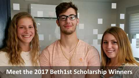 Read about the winners of Beth1st FCU's 2017 Scholarships