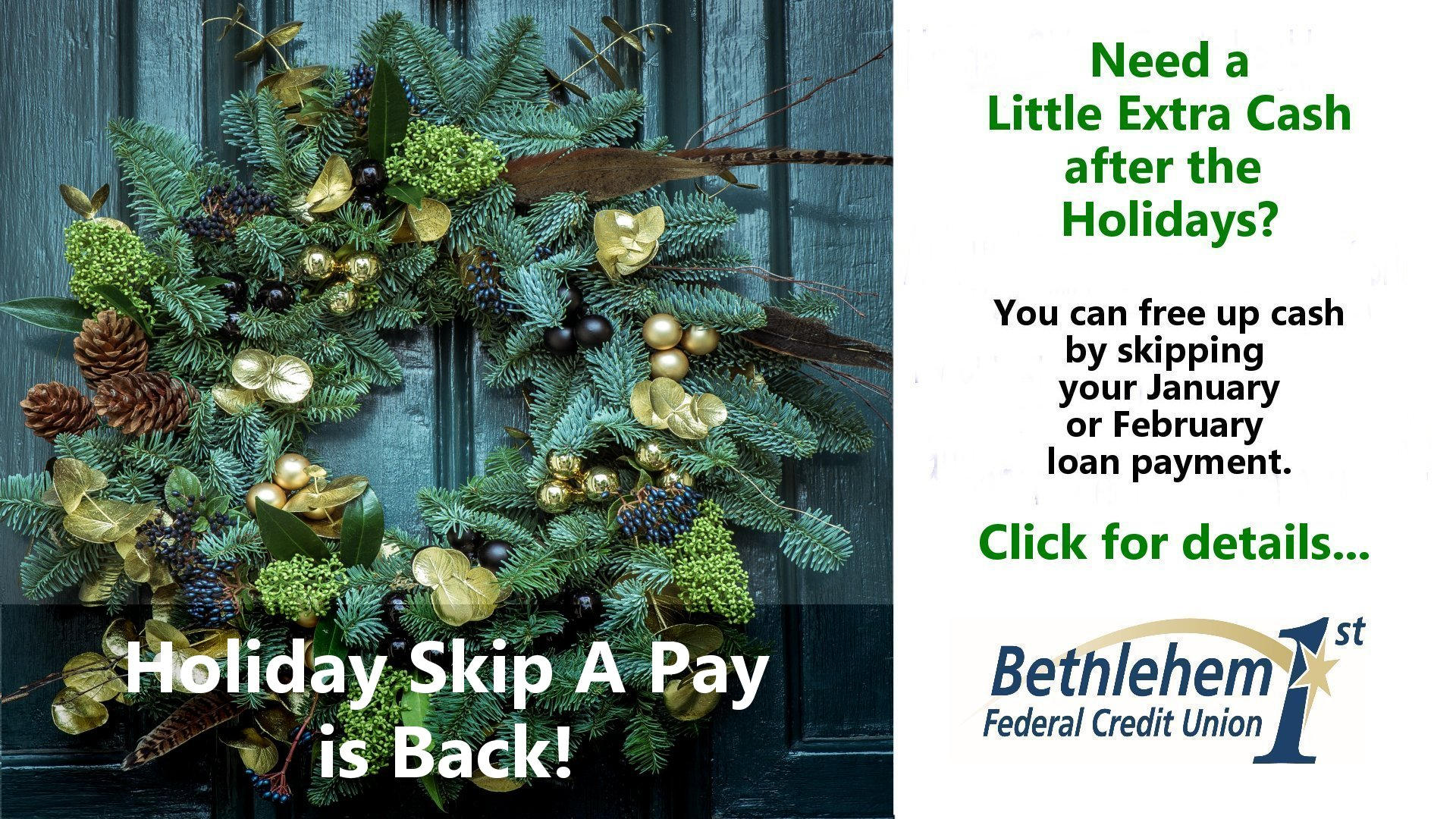 Read more about Holiday Skip A Pay