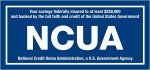 Logo of the National Credit Union Association (NCUA)