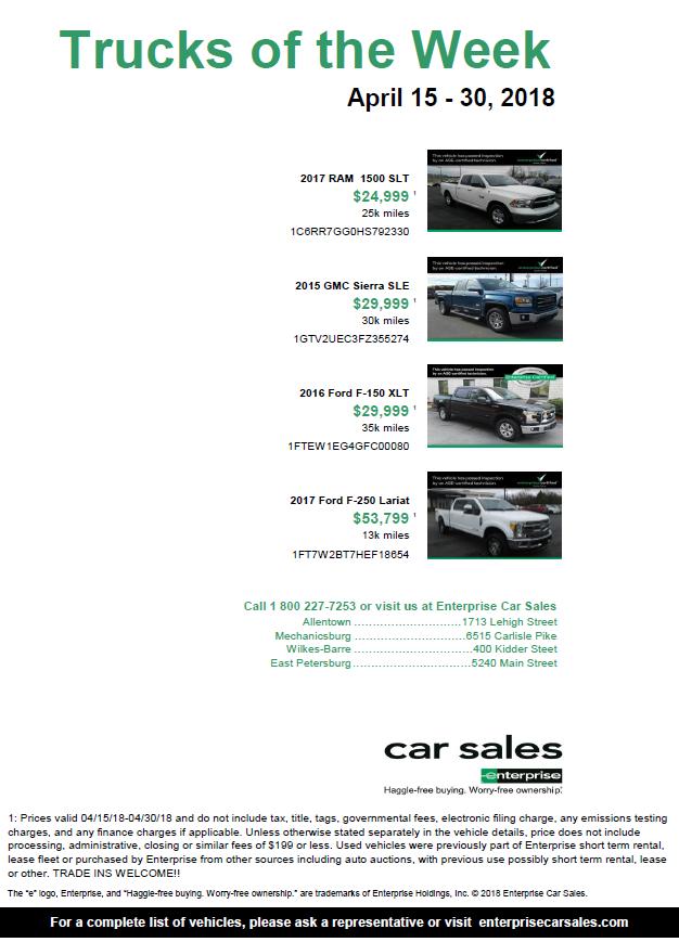 Enterprise Car Sales Deals Page. Click to go to the Enterprise Car Sales site.