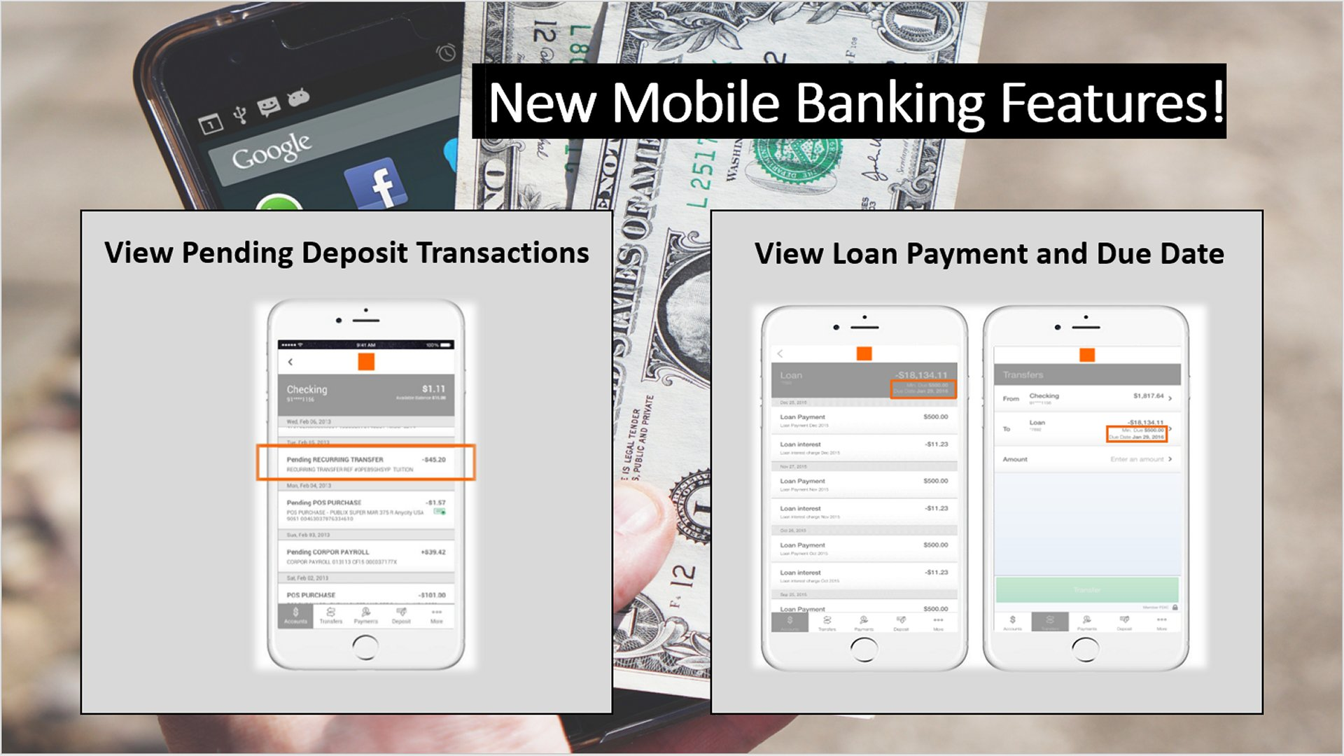 Two New Mobile Banking App Features