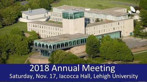 Members: Join us for our Annual Meeting. Click for details...
