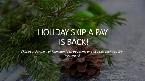 Read more about Beth1st's Holiday Skip A Pay...