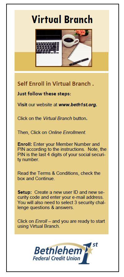 Virtual branch quick guide