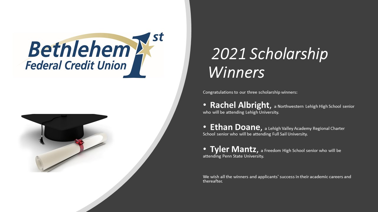 Scholarship Winners!