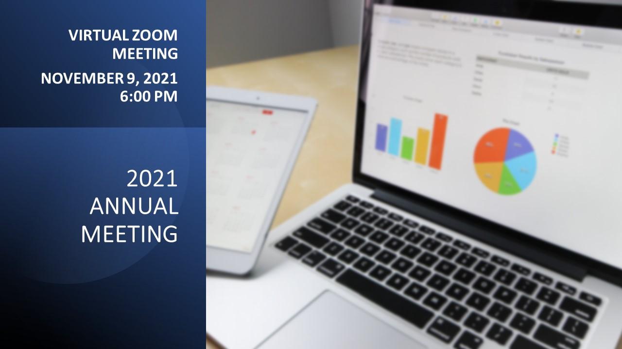 Annual Meeting is via Zoom